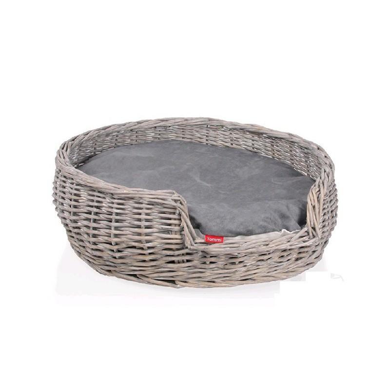 Tommi CZ s.r.o. Pelech Proutěný kulatý Provence 50x50x17 cm