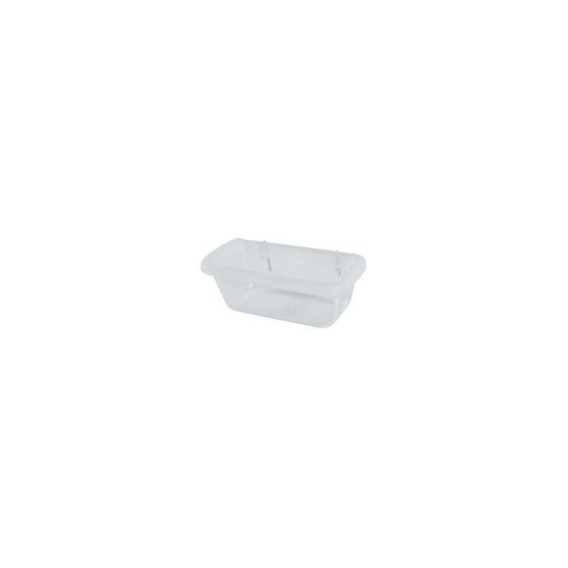 Zolux S.A.S. Krmítko pro ptáky plast s dělící mřížkou S 9 cm Zolux