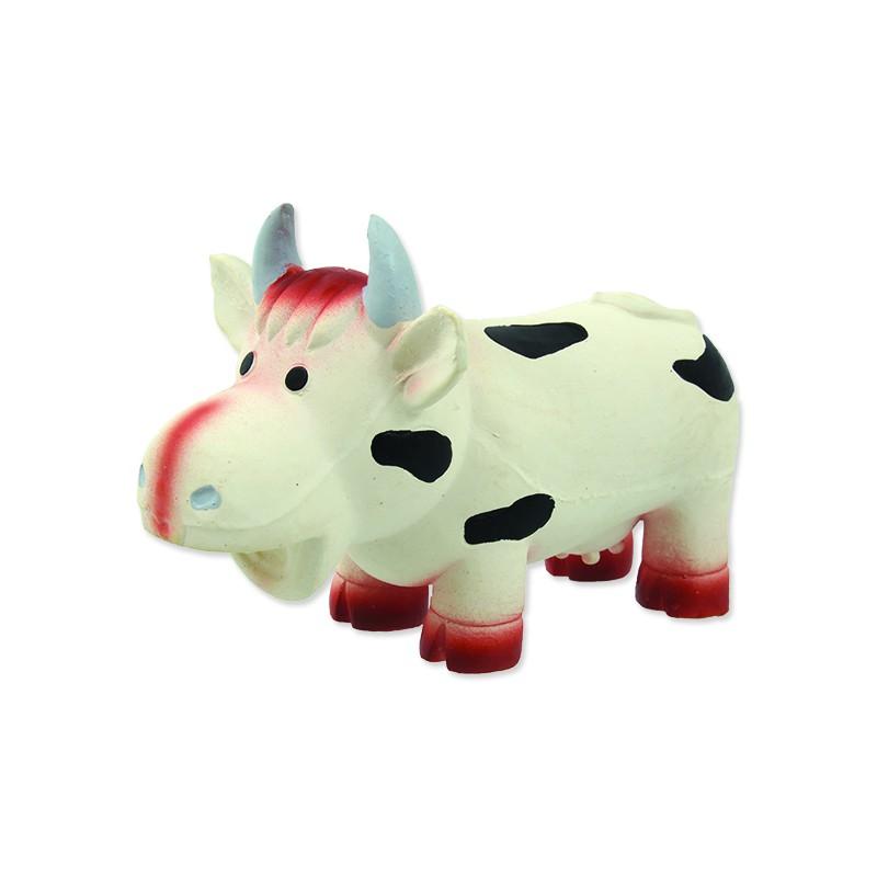 PLAČEK Hračka DOG FANTASY Latex kráva se zvukem 18 cm 1ks