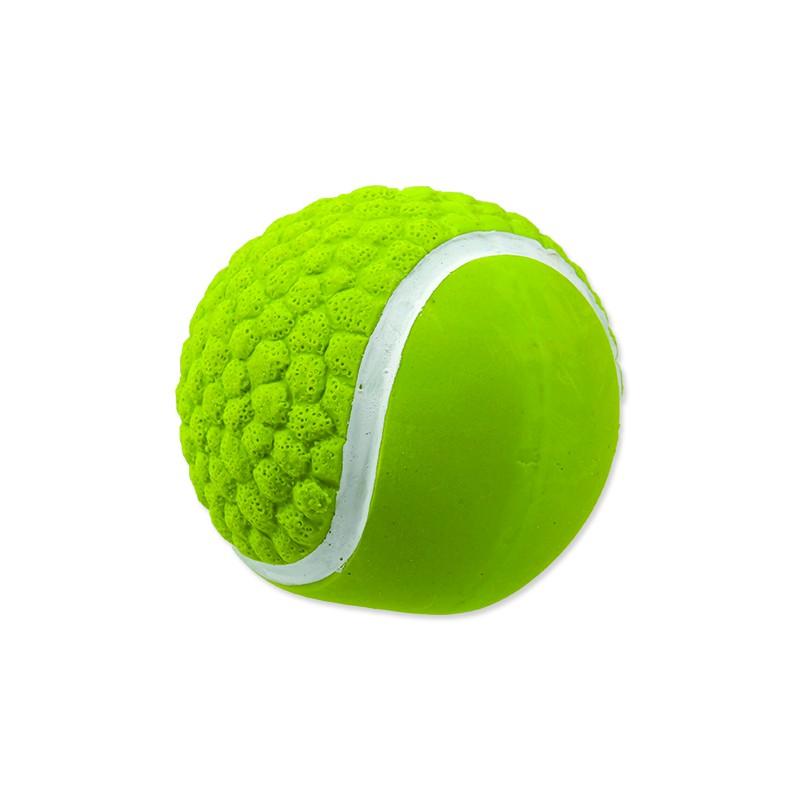 PLAČEK Hračka DOG FANTASY Latex míč tenisový se zvukem 7,5 cm 1ks