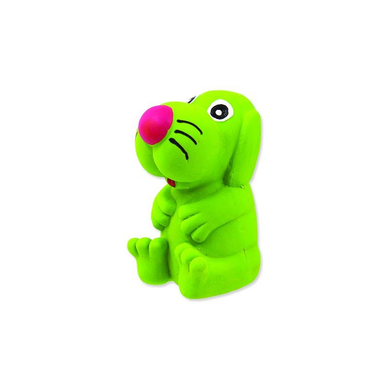 PLAČEK Hračka DOG FANTASY Latex pes se zvukem mix barev 8 cm 1ks
