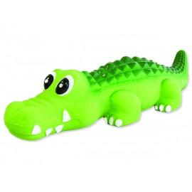 Hračka DOG FANTASY Latex krokodýl se zvukem 21 cm 1ks