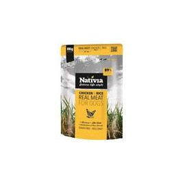 Nativia Dog REAL Meat Chicken & Rice 8 kg
