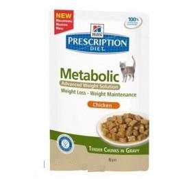 Hills Feline kapsa Adult Metabolic 12x85g