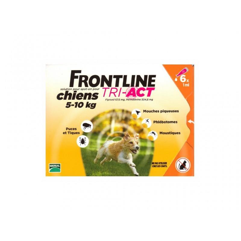 MERIAL Frontline Tri-act Spot-on S (5-10 kg) 1 pipeta