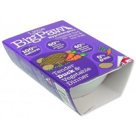 Vanička LITTLE BIGPAW Dog kachna & zelenina 150g