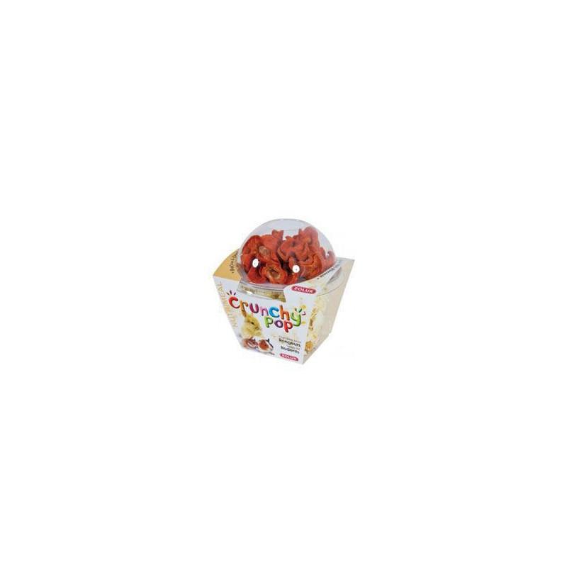 Zolux S.A.S. Pochutka POPCORN mrkev pro hlodavce 43 g Zolux