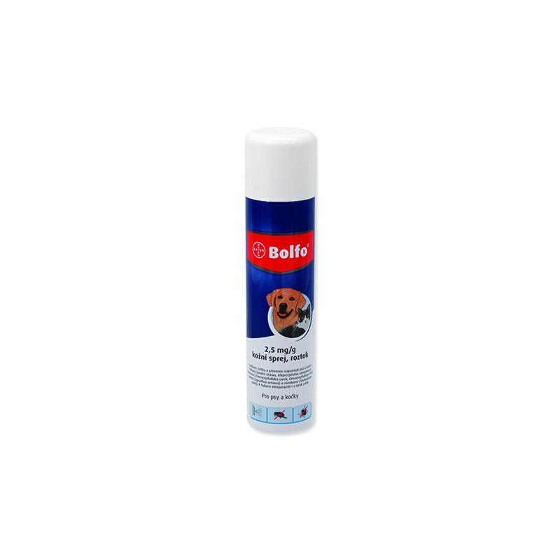 BAYER Animal Health Bolfo spray 250 ml