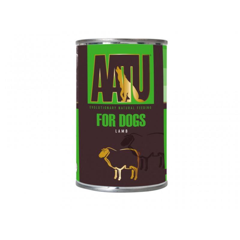 Pet Food (UK) Ltd - AATU AATU Dog Wild Lamb konz. 400 g