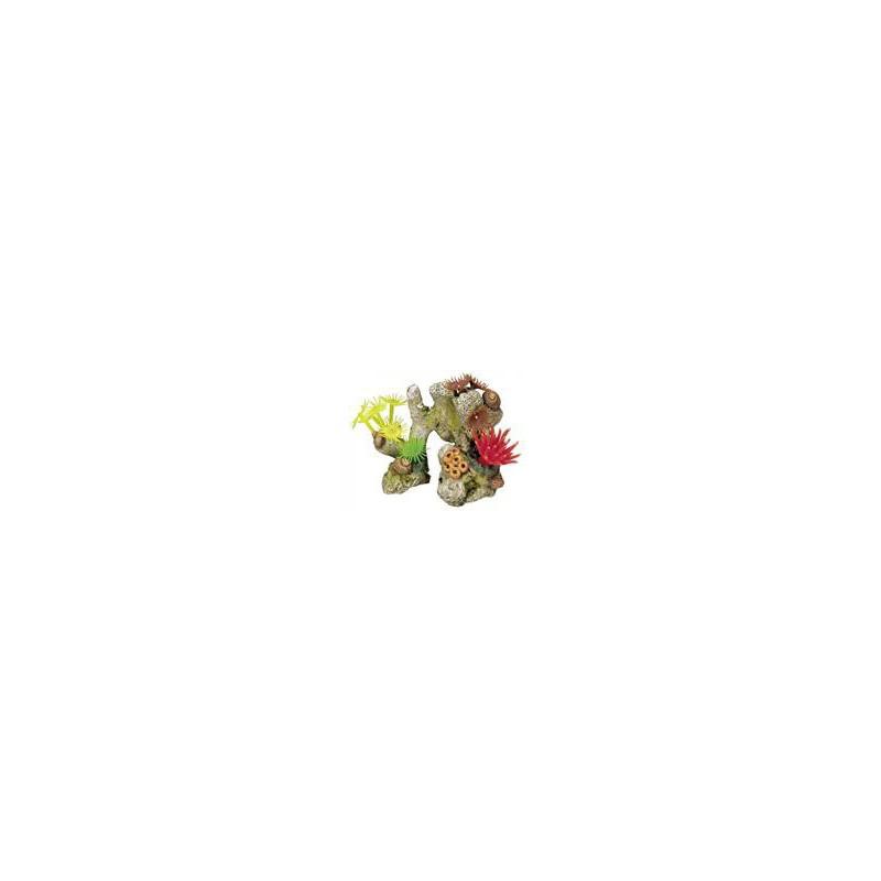 SAMOHYL Dekorace do akvária - Korál barevný Nobby 11 x 7 x 8,5 cm