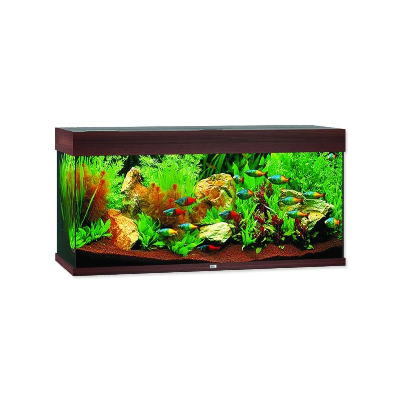 Juwel Akvárium set JUWEL Rio LED 180 tmavě hnědé 180l