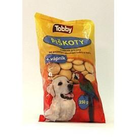 Pochoutka Piškoty TOBBY 250 g