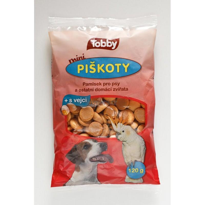TV PROBBE Piškoty TOBBY pro psy MINI 120 g