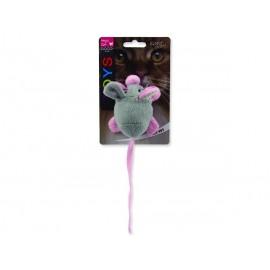 Hračka MAGIC CAT myška chrastící s catnipem mix 22,5 cm 1ks