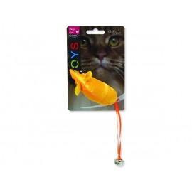 Hračka MAGIC CAT myš neonová 8,75 cm 1ks