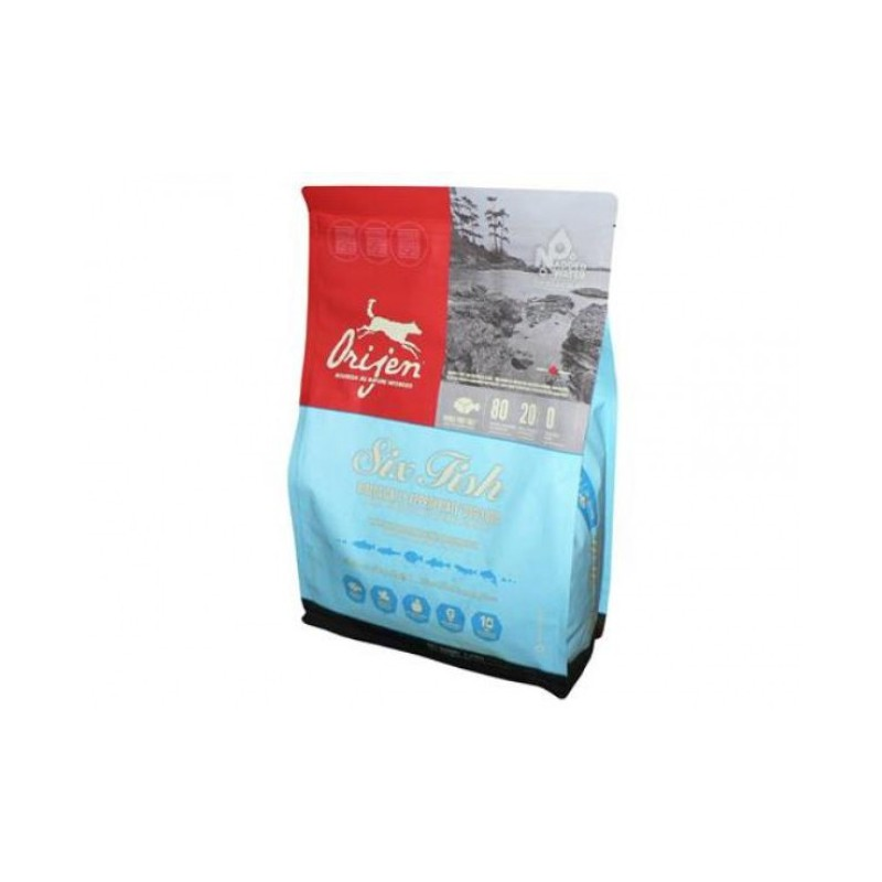 Champion Petfoods LTD. Orijen Dog Six Fish NEW 2 kg