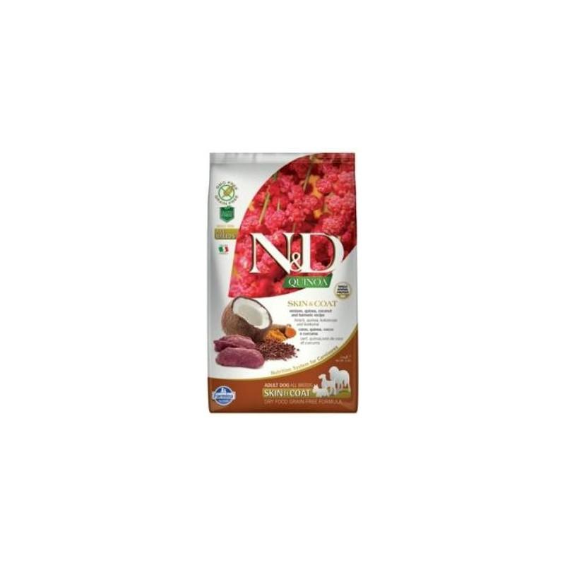 Farmina Pet Foods - N&D N&D GF Quinoa DOG Skin&Coat Venison & Coconut 2,5 kg