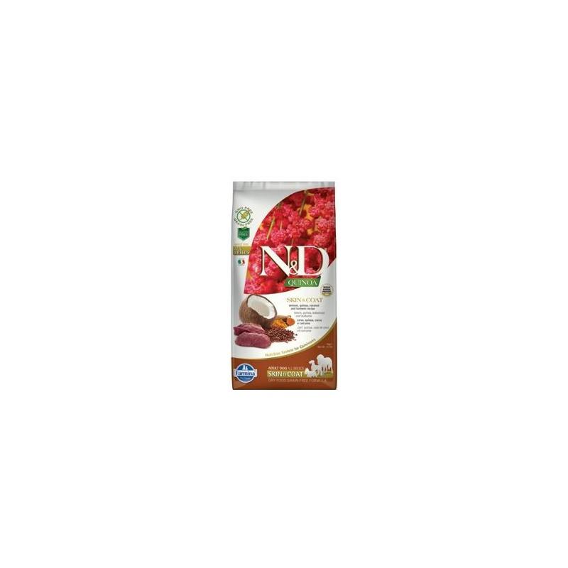 Farmina Pet Foods - N&D N&D GF Quinoa DOG Skin&Coat Venison & Coconut 7 kg