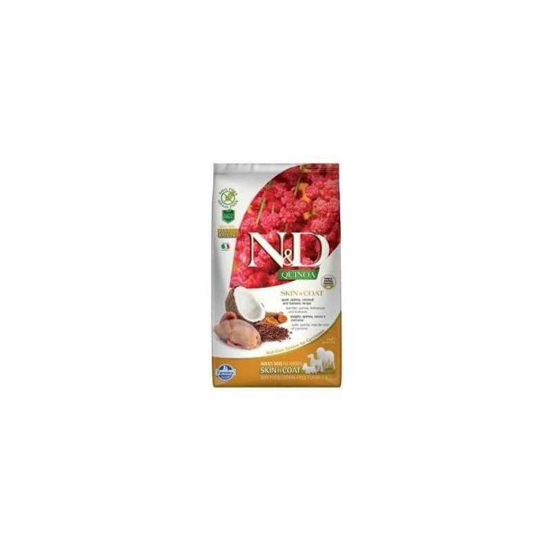 Farmina Pet Foods - N&D N&D GF Quinoa DOG Skin&Coat Quail & Coconut 7 kg