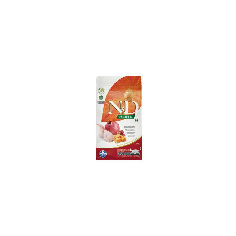 Farmina Pet Foods - N&D N&D GF Pumpkin CAT Quail & Pomegranate 1,5 kg