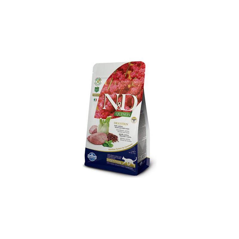 Farmina Pet Foods - N&D N&D GF Quinoa CAT Digestion Lamb & Fennel 300 g