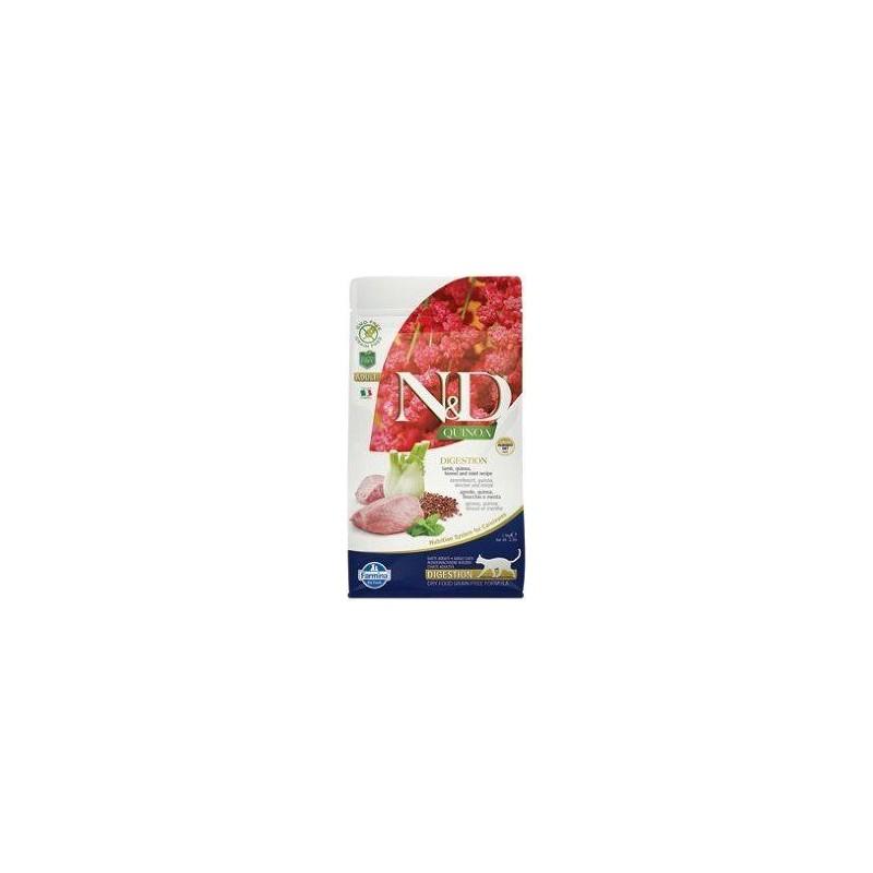 Farmina Pet Foods - N&D N&D GF Quinoa CAT Digestion Lamb & Fennel 1,5 kg