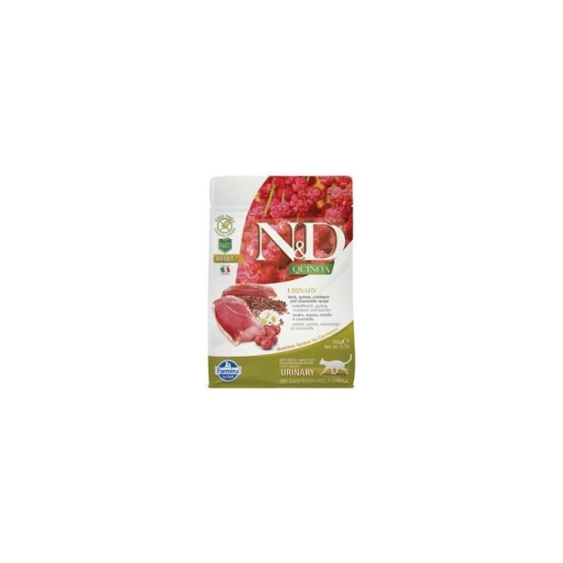Farmina Pet Foods - N&D N&D GF Quinoa CAT Urinary Duck & Cranberry 300 g
