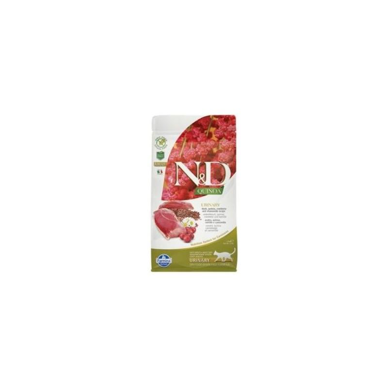 Farmina Pet Foods - N&D N&D GF Quinoa CAT Urinary Duck & Cranberry 1,5 kg