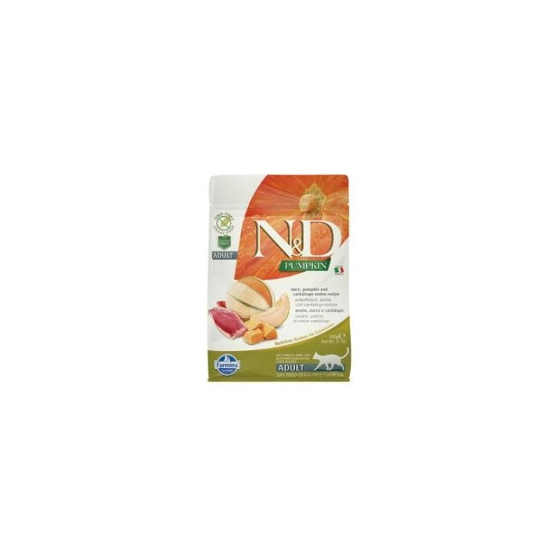 Farmina Pet Foods - N&D N&D GF Pumpkin CAT Duck & Cantaloupe melon 300 g