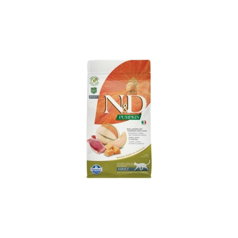 Farmina Pet Foods - N&D N&D GF Pumpkin CAT Duck & Cantaloupe melon 1,5 kg