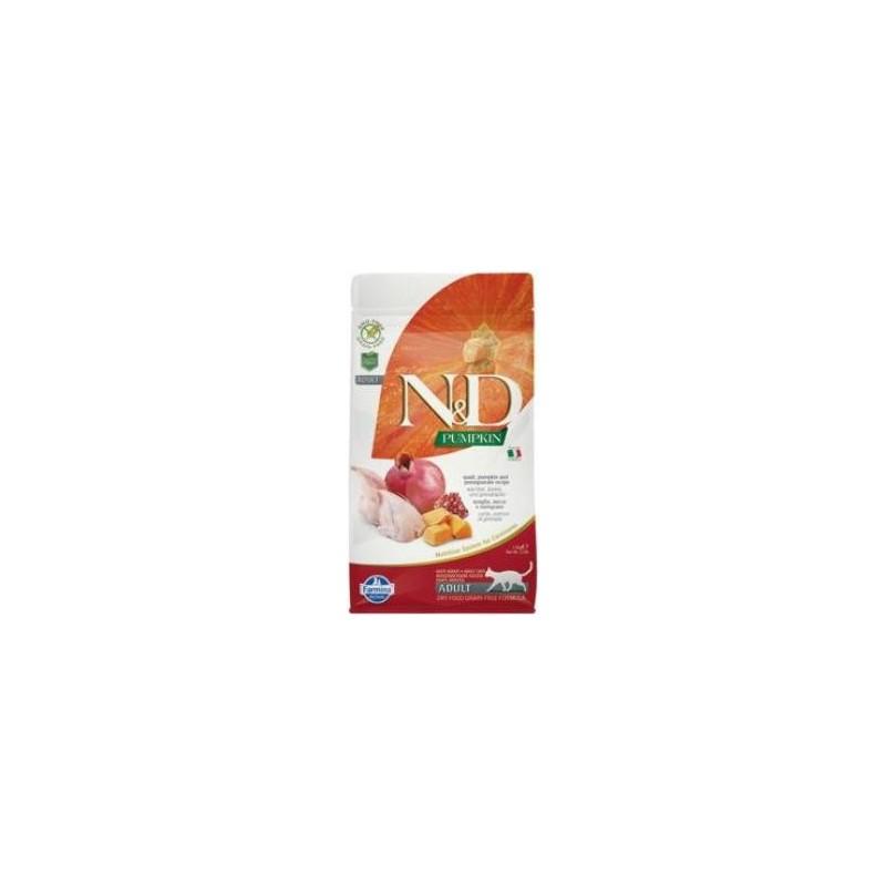 Farmina Pet Foods - N&D N&D GF Pumpkin CAT Quail & Pomegranate 300 g