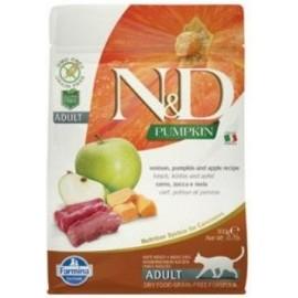 N&D GF Pumpkin CAT Venison & Apple 300 g