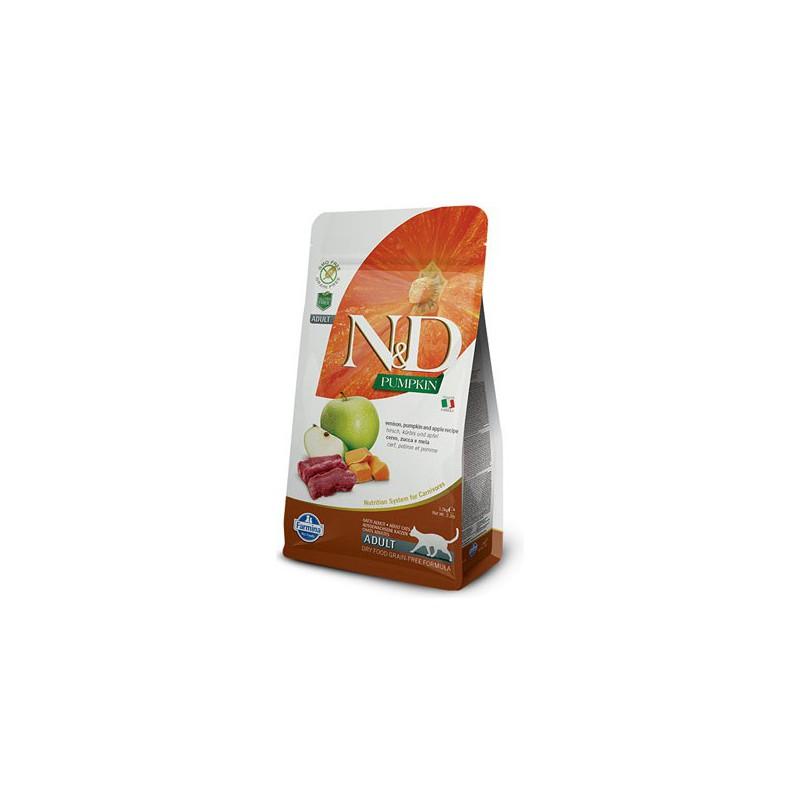 Farmina Pet Foods - N&D N&D GF Pumpkin CAT Venison & Apple 1,5 kg