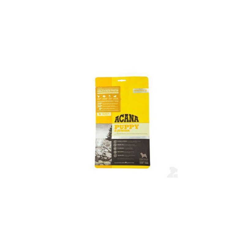 Champion Petfoods LTD. Acana Dog Puppy Junior Heritage 340 g