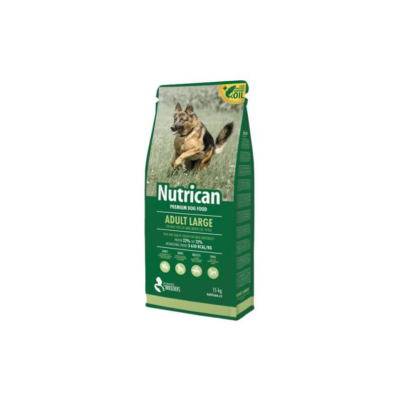 Canvit s.r.o. krmivo NutriCan Adult Large 15 kg