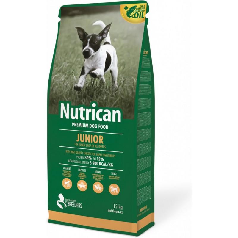 Canvit s.r.o. krmivo NutriCan Junior 3 kg