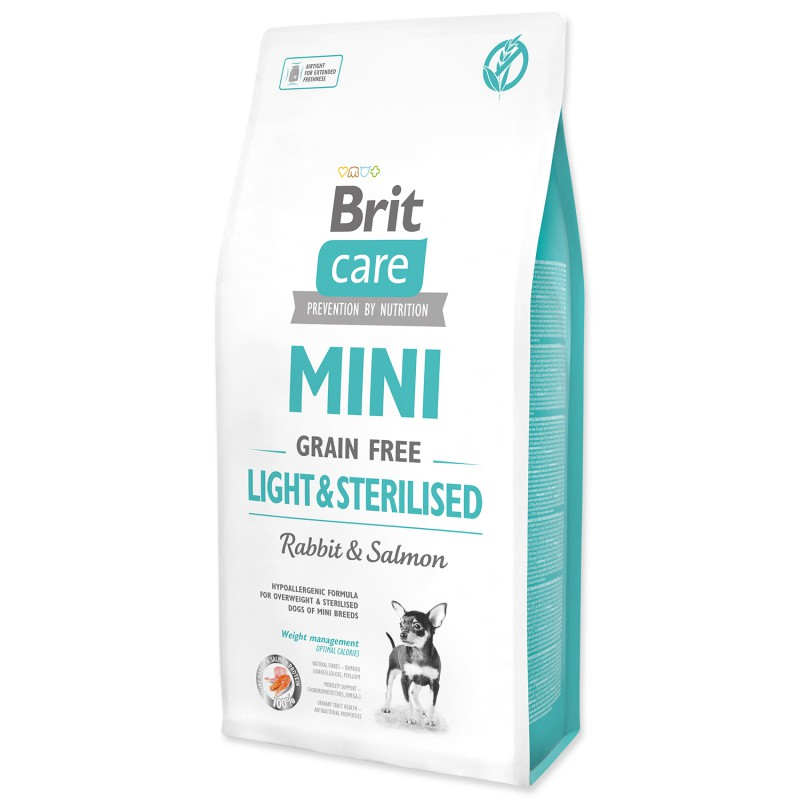 BRIT Care Mini Grain Free Light & Sterilised 7kg