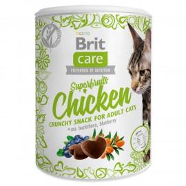 BRIT Care Cat Snack Superfruits Chicken 100g