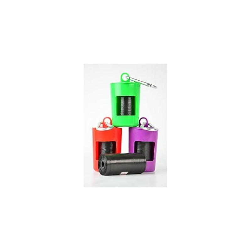 Trixie GmbH a Co.KG Pouzdro plast + sáčky na psí exkrement 2x20ks TR