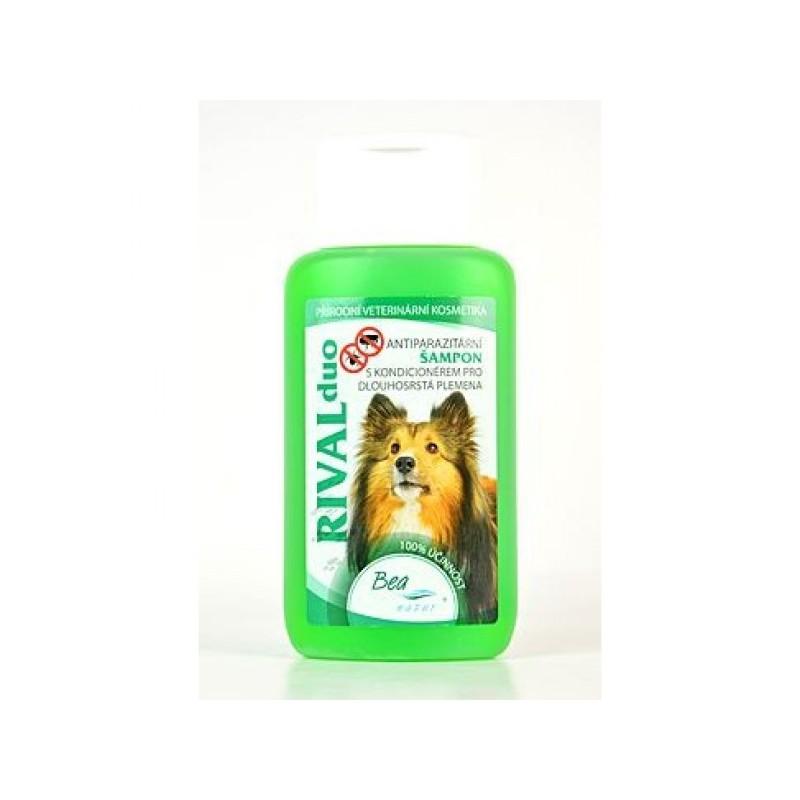 BEA natur, s.r.o. Šampon Bea Rival DUO pro psy ,dlouhá srst 220 ml