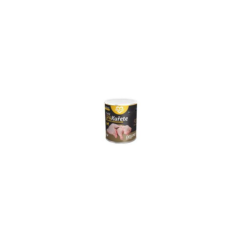 SAMOHYL MARTY konz. pro psy DeLuxe-celé 3/4 kuřete 800 g