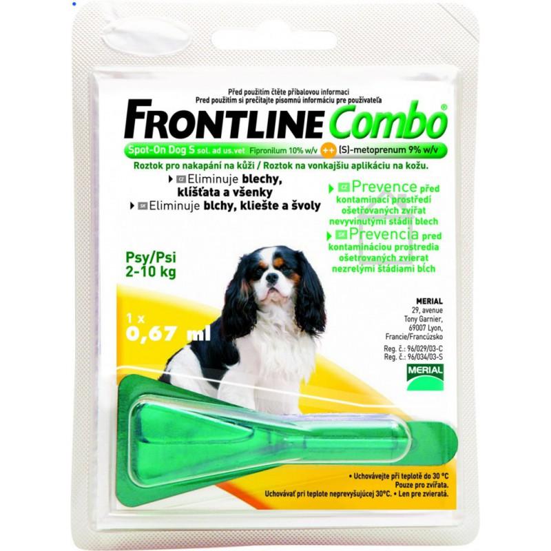 MERIAL Frontline Combo Spot-on Dog S sol 1x0,67 ml