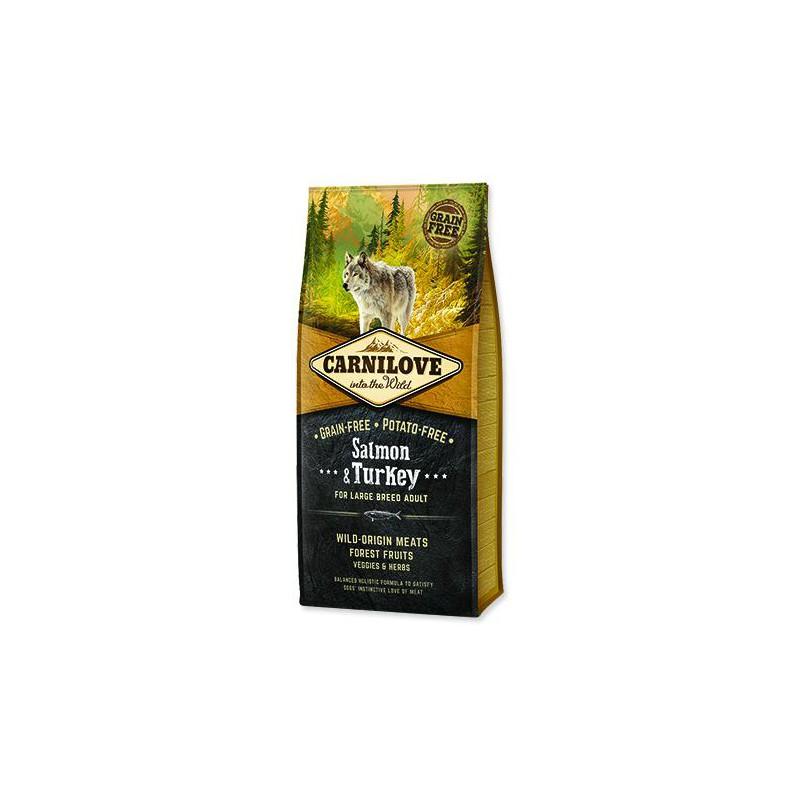 BRIT Dry Dog Carnilove CARNILOVE Salmon & Turkey for Dog Large Breed Adult 12kg