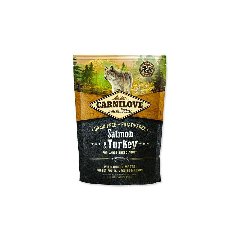 BRIT Dry Dog Carnilove CARNILOVE Salmon & Turkey for Dog Large Breed Adult 1,5kg
