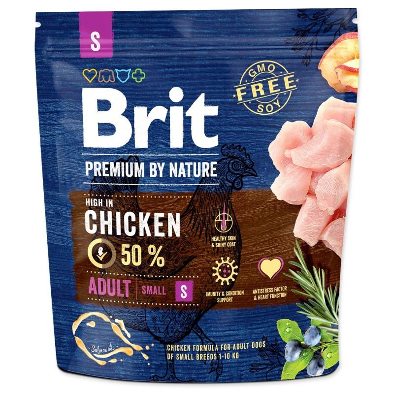 BRIT Dry Dog Premium BRIT Premium by Nature Adult S 1 kg