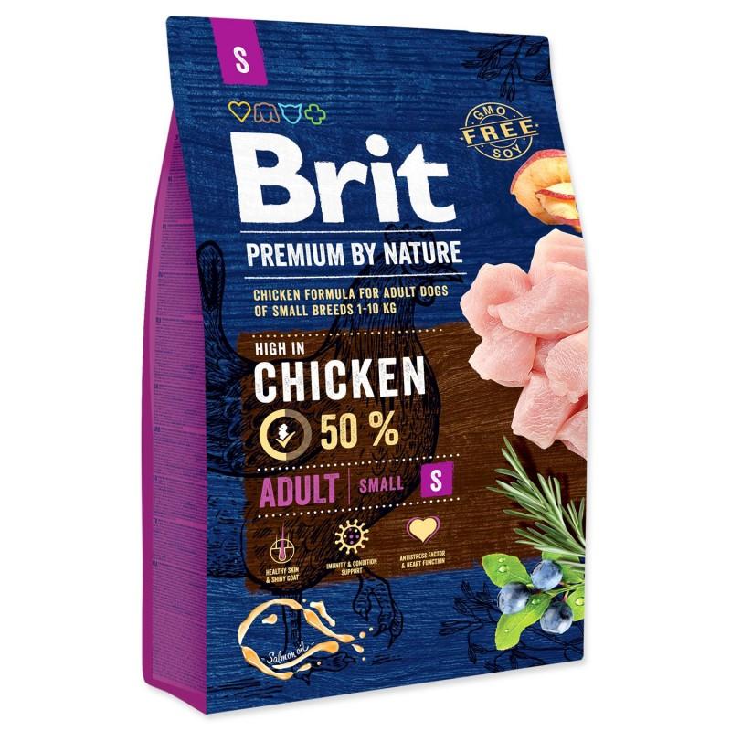 BRIT Dry Dog Premium BRIT Premium by Nature Adult S 3kg