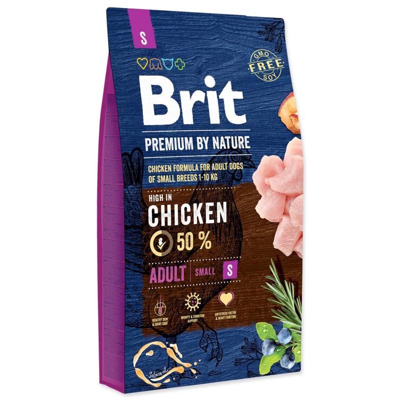 BRIT Dry Dog Premium BRIT Premium by Nature Adult S 8 kg