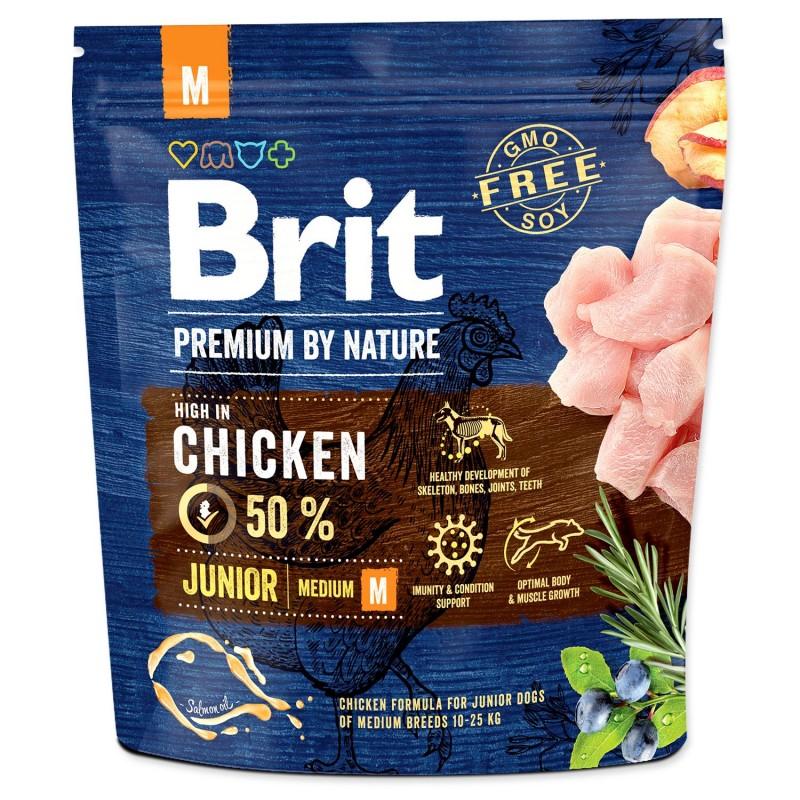 BRIT Dry Dog Premium BRIT Premium by Nature Junior M 1kg