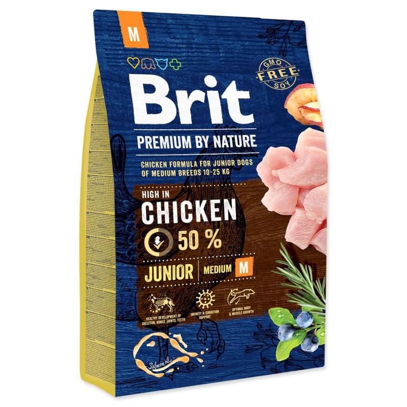 BRIT Dry Dog Premium BRIT Premium by Nature Junior M 3 kg