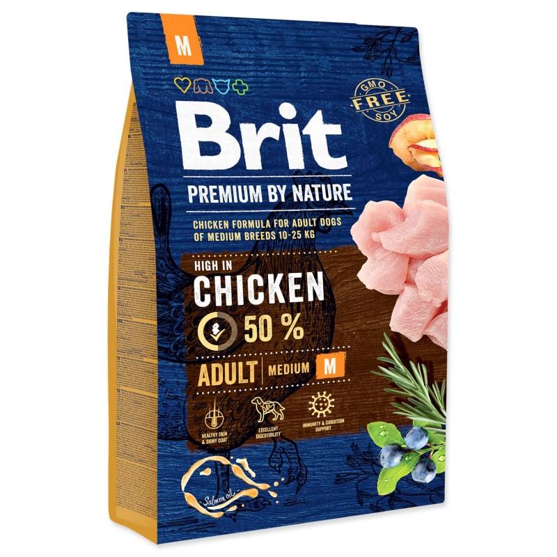 BRIT Dry Dog Premium BRIT Premium by Nature Adult M 3 kg
